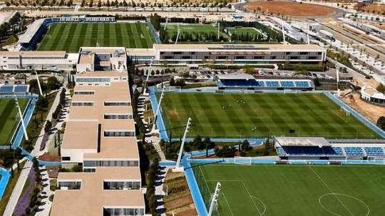 Un plan contre les drones au centre d'entraînement du Real Madrid. Goal