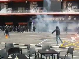 Duro scontro tra le tifoserie. Goal