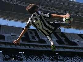 Valentin filho Montillo Botafogo