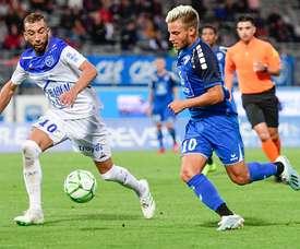 Valentin Jacob priorité de Guingamp et Lens. Goal
