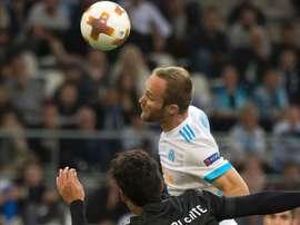 Valere Germain, Marseille-Guimaraes, UEFA Europa League. GOAL