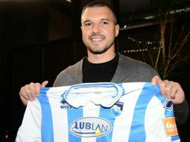 Former Juve & Man City forward Bojinov sent off before debut. AFP