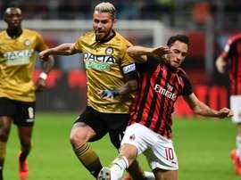 Behrami dirigente dell'Udinese. Goal