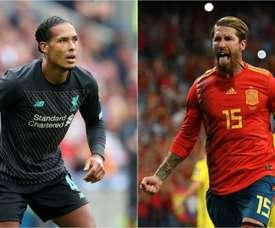 Pedro compares talented defender Van Dijk to Spain teammate Ramos. GOAL