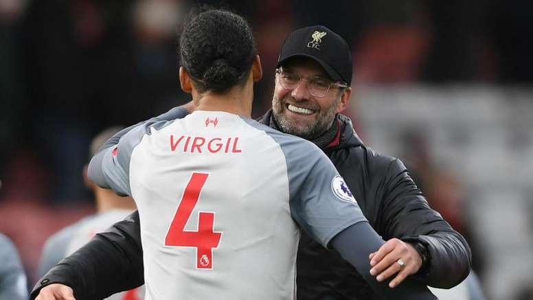 Klopp hails Liverpool's awards win