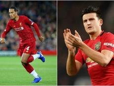 Van Dijk and Maguire in comparison. GOAL