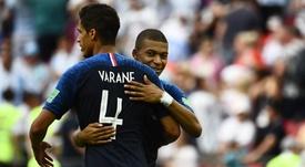 Varane a parlé a de son coéquipier. Goal