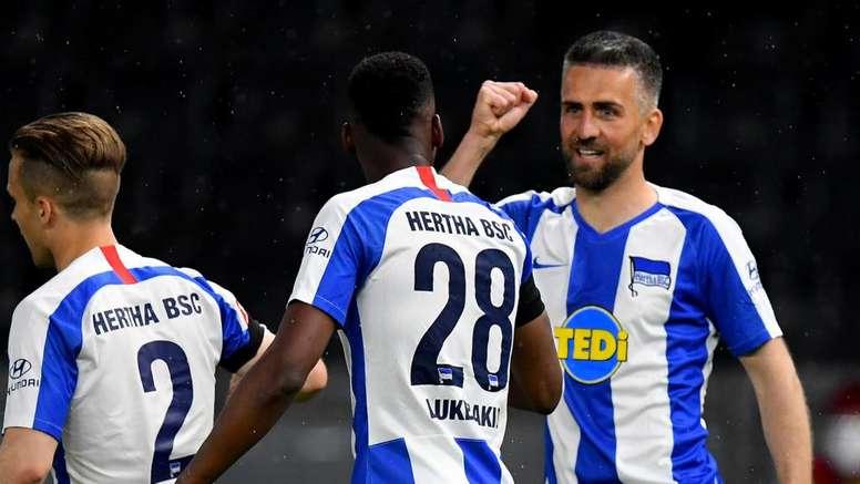 Le Hertha remporte le derby de Berlin. Goal