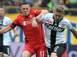 Il Parma supera la Fiorentina. Goal