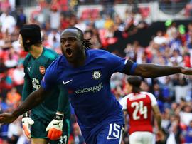 Victor Moses espère remporter le prix du meilleur joueur africain de l'année 2017. Goal