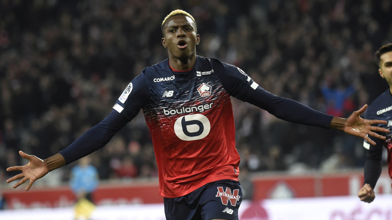Victor Osimhen se sent bien à Lille. Goal