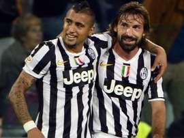 Vidal Pirlo Juventus