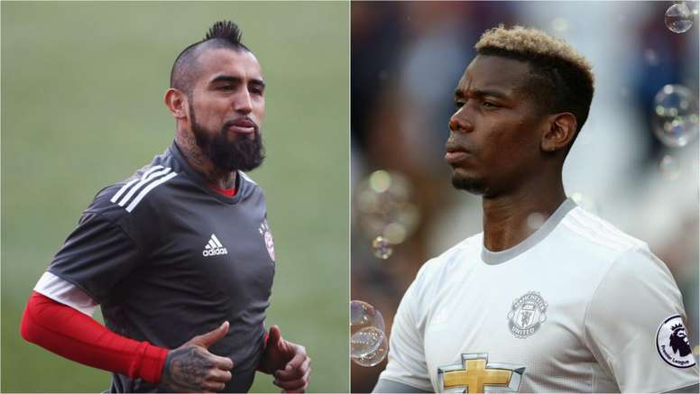 Pogba was one of the names on Barcelona's list before Vidal was signed. Goal