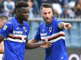 Cori razzisti a Vieira: la Sampdoria ringrazia la Roma per le scuse