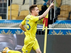 Viktor Tsygankov threw the group wide open as Ukraine beat Spain 1-0. GOAL