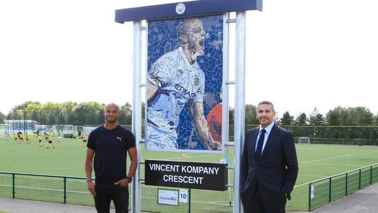 Man City to honour Kompany with sculpture and road name. GOAL