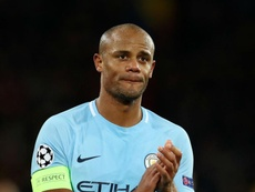 Kompany hailed Manchester City's work rate in difficult conditions. GOAL