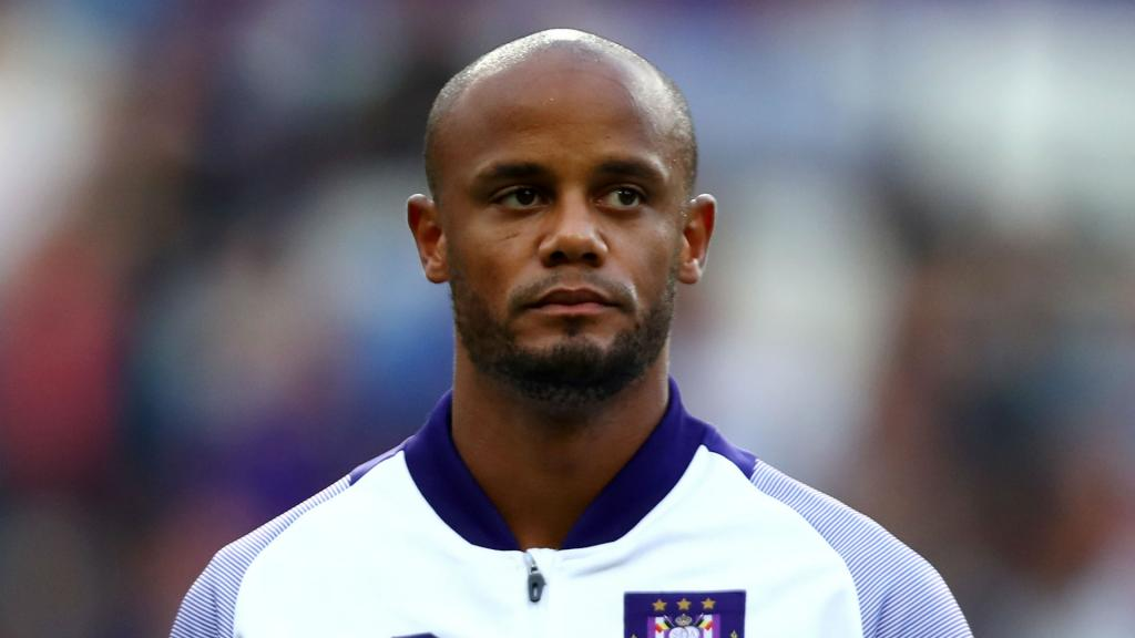 Kompany gives up coaching duty at Anderlecht