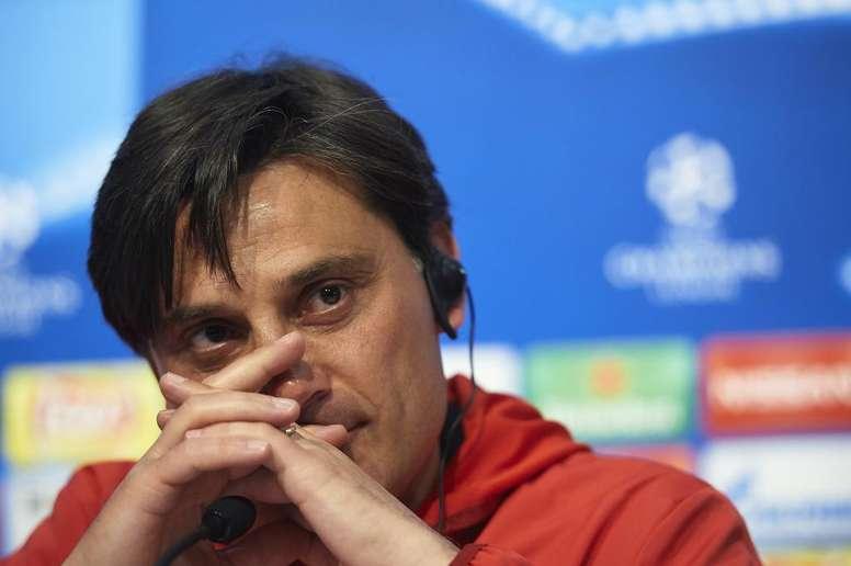 Montella se conforma com empate na Champions.GOAL
