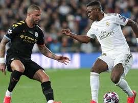 Vinícius Jr reclama de arbitragem de Real e City. Goal