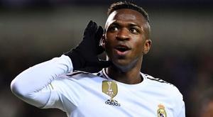 Vinicius veut rester à Madrid. GOAL