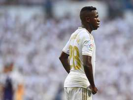 Vinicius volta a ficar de fora da lista de Zidane. GOAL