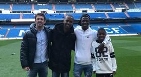 Adeptos do Fla estavam à espera de Vinícius em Madrid. Goal