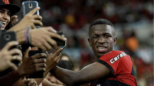 Vinicius does not know where he will be playing next season. GOAL