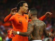 Van Dijk delighted with spirit. Goal