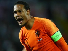 Van Dijk was not fussed by England fans booing him. GOAL