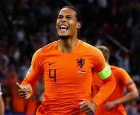 Van Dijk has been in imperious form this season. GOAL