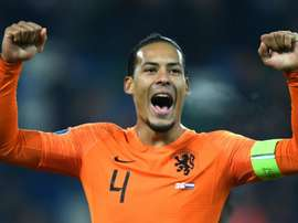 Euros thrill for Dutch ace Van Dijk