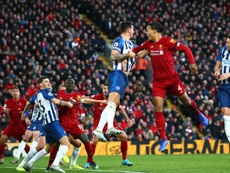Van Dijk scored both goals as Liverpool went 11 points clear off Man City. GOAL