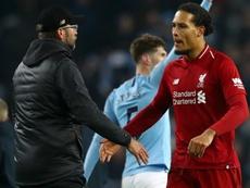 Van Dijk thinks that Liverpool still control their own destiny. GOAL