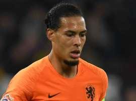Van Dijk retira o favoritismo à Holanda. Goal