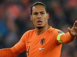Il centrale olandese dell'Olanda e del Liverpool, Van Dijk.