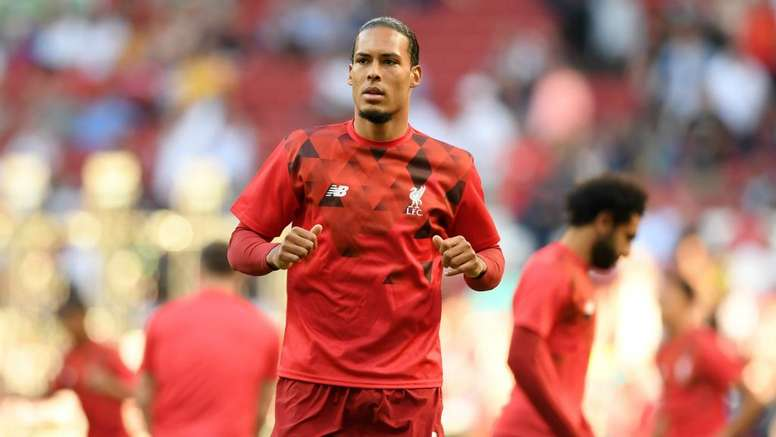 Van Dijk is among the favourites for the world's top individual prizes. GOAL