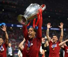 Van Dijk wants to win more trophies with Liverpool. GOAL