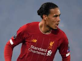 Van Dijk focused on Netherlands. GOAL
