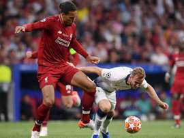 Virgil van Dijk has called out Harry Kane after the UCL final. GOAL