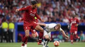 Virgil van Dijk has called out Harry Kane after the UCL final. GOAL