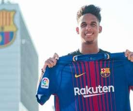O jovem brasileiro vai jogar na equipe secundária do Barça. Goal