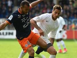 Vitorino Hilton, âgé de 39 ans, a prolongé son contrat d'un an avec Montpellier. Goal