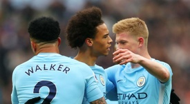 De Bruyne was shocked that Sane will not be going to the World Cup. GOAL