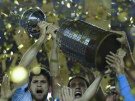 O time que venceu a última edição da Libertadores: O Grêmio de Porto Alegre (BRA). Goal