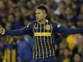 Walter Montoya in action with his former club Rosario Central. Goal