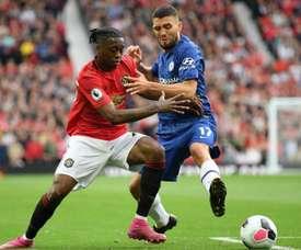 Wan Bissaka says making tackles gives him confidence. GOAL