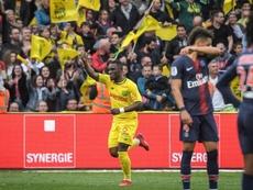 Nantes a battu Paris. Goal
