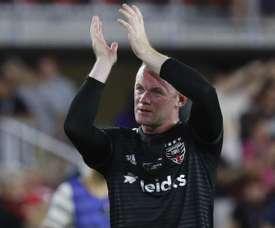 Rooney scored from a stunning set-piece. GOAL