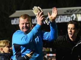Wayne Shaw, Sutton United. GOAL